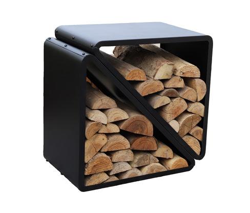 *NEU*: Holzablage aus Stahl, rechteckig, schwarz (Kopie)