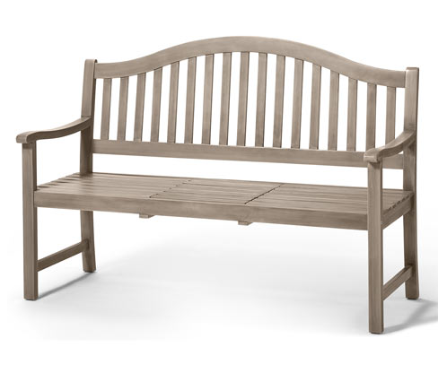*NEU*: Gartenbank aus Akazienholz, Vintage Grey