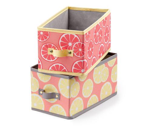 2 Schubladen-Ordnungsboxen, mittel