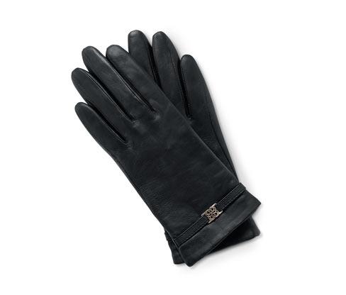 Lederhandschuhe mit Zierelement | Accessoires > Handschuhe > Lederhandschuhe