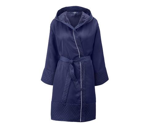 Jacquard-Morgenmantel | Bekleidung > Homewear > Morgenmäntel