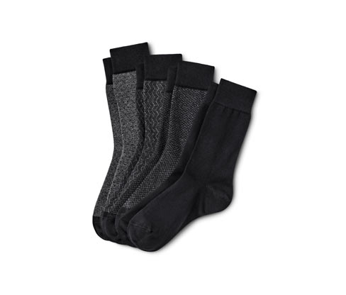 4 Paar Jacquard-Socken