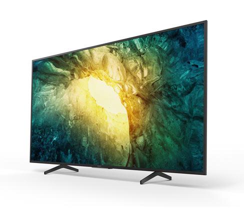 """Sony-Bravia-4K-UHD-Smart-TV »KD55X7055BAEP«, 55"""", G (von A bis G)"""