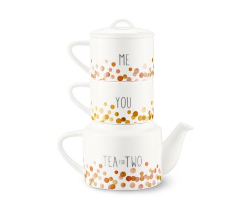 Teekanne mit 2 Tassen | Küche und Esszimmer > Kaffee und Tee > Teekocher