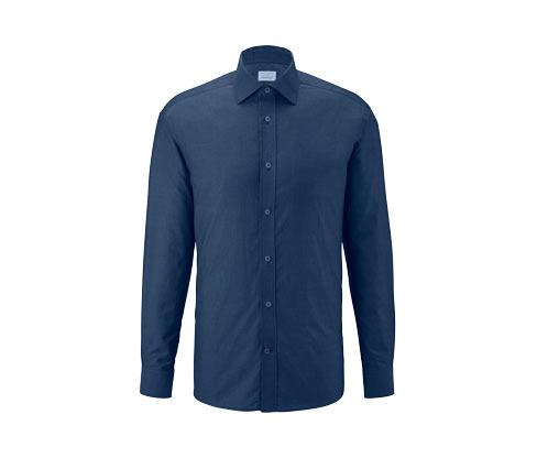 Vollzwirn-Hemd