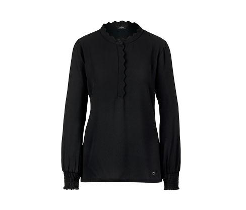 Blusenshirt, schwarz