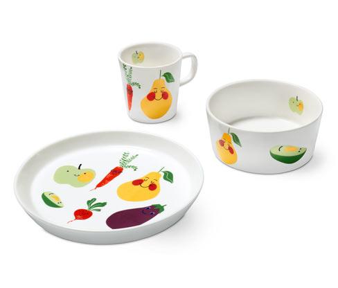 3-teiliges Kinder-Geschirr-Set