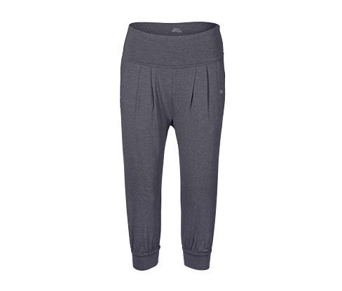 3/4-Yogahose mit Umschlagbund | Sportbekleidung > Sporthosen > Yogahosen