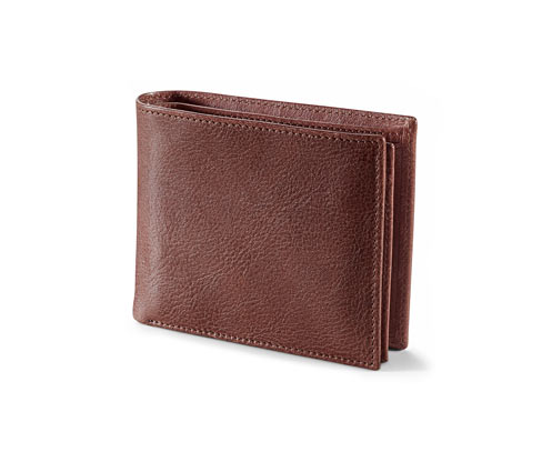Leder-Portemonnaie | Accessoires > Portemonnaies > Sonstige Portemonnaies
