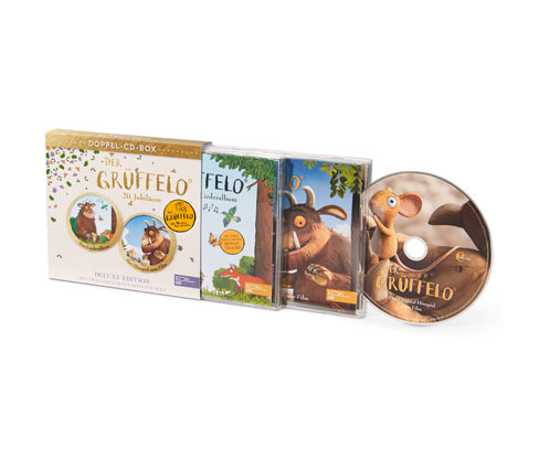 Tchibo CD-Box »Der GRÜFFELO«
