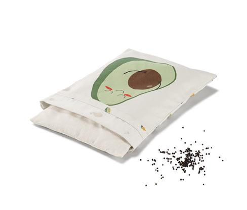 Tchibo Rapssamen-Wärmekissen - Grün - 100% Baumwolle
