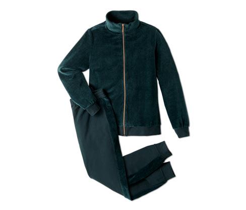 Nicki-Hausanzug | Bekleidung > Homewear > Hausanzüge
