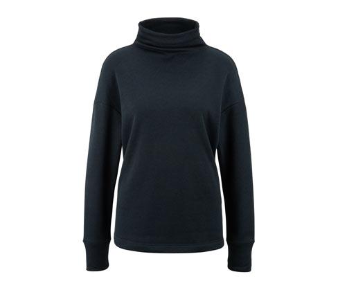 Strickfleece-Sweatshirt