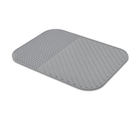 Tchibo Geschirr-Abtropfmatte aus Silikon - Grau