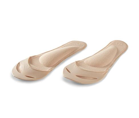 1 Paar Einlegesohlen mit Fußbett
