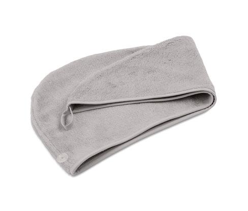 Turban-Handtuch, grau