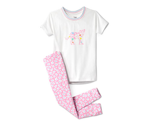 Kurzarm-Pyjama mit Leggings