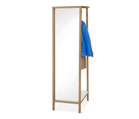 Garderobe mit Spiegel
