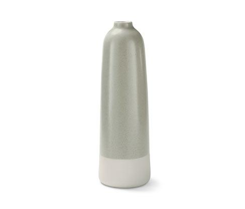 Tchibo Vase aus Steingut - Creme