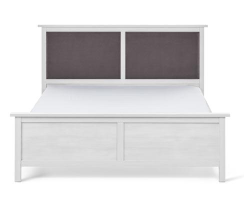 Bett mit gepolstertem Kopfteil, ca. 160 x 200 cm