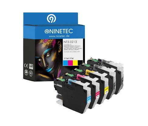 NINETEC-Tintenpatrone »NT5-3213« für Brother-Modelle