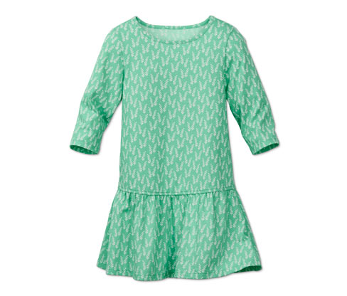 Jerseykleid, mit floralem Alloverprint