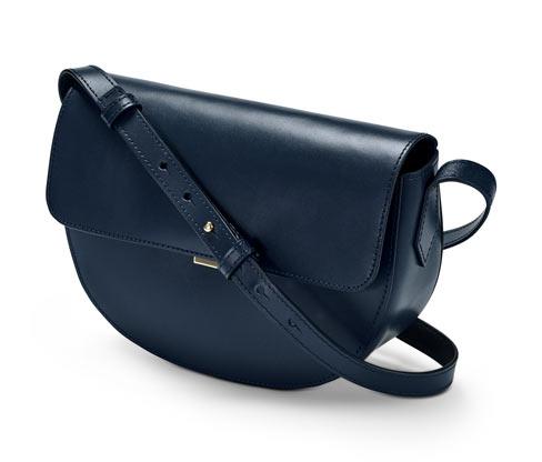 Lederhandtasche »Saddle Bag«