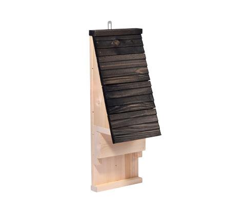 *NEU*: Fledermauskasten aus Nadelholz, schwarz/braun