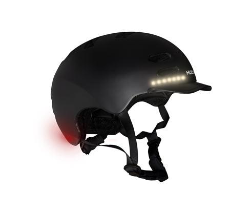 Tchibo HUDORA-LED-Fahrrad-und-Skater-Helm - Schwarz