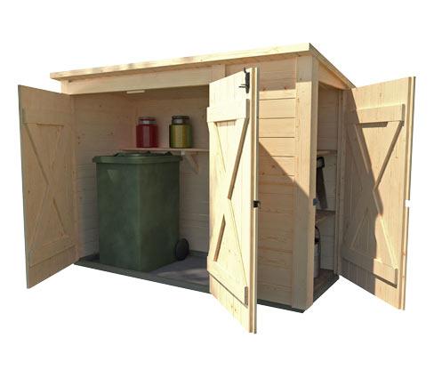 WEKA-Multibox inkl. Regalsystem | Garten > Gerätehäuser