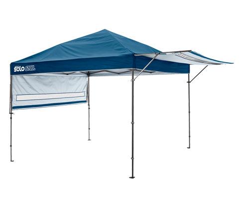 Shelterlogic-Camping-Faltpavillon XL - Blau