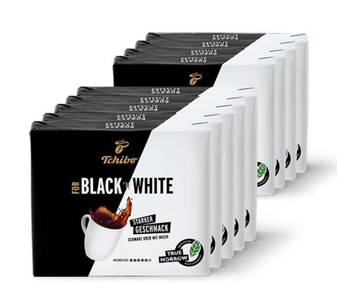 Tchibo FOR BLACK 'N WHITE - 9x 500 g Gemahlen