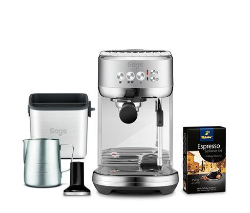 SAGE® Bambino™ Plus SES500 Siebträgermaschine (inkl. SAGE® Zubehör & Gratis-Kaffee)