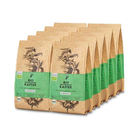 Tchibo Bio Kaffee – 10x 250 g Gemahlen