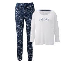 Pijama Takımı, Mavi-Beyaz