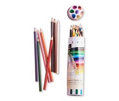 Akvarelové pastelky, 24 ks