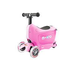 Scooter, Mini 2 Pembe Deluxe