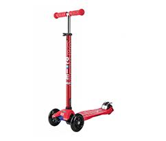 Scooter, Maxi Micro with T-bar Kırmızı