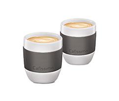Gri Porselen Espresso Fincanı