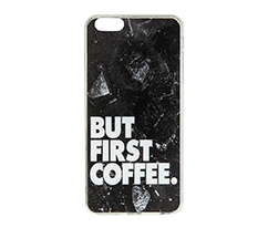 But First Coffee IPhone 6 Plus-6s Plus Silikon Telefon Kılıfı