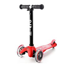 Scooter, Mini 2go Deluxe, Kırmızı