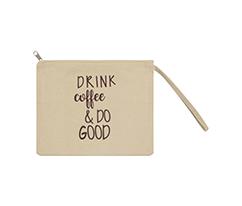 Kahve Clutch Çanta