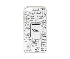 Drink Coffee IPhone 7-8 Silikon Telefon Kılıfı