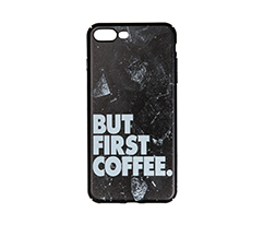 But First Coffee IPhone 7  plus-8 plus Rubber Telefon Kılıfı
