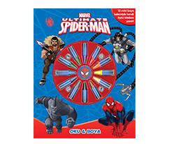 Marvel - Ultimate Spider Man - Okuma & Boyama Kitabı