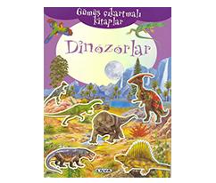 Gümüş Çıkartmalı Kitaplar - Dinozorlar