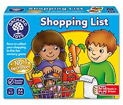 Alışveriş Listesi Çocuk Kutu Oyunu