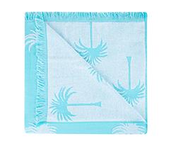 Palmiye Desenli Havlu