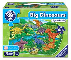 Büyük Dinozorlar Yapboz