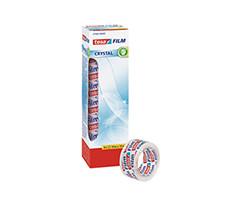 tesa Film Kristal Şeffaf Bant, 8 x 10m:19mm